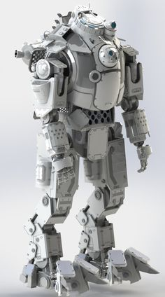 Create a Printed 18 Inch Tall Titanfall Atlas Mech Action Figure 3d Printing Diy, 3d Printing Business, 3d Printing News, 3d Printing Service, 3d Printed Robot, 3d Printed Objects, 3d Printer Projects, Mechanical Design, 3d Prints