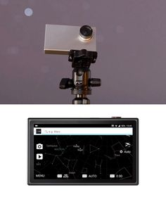 Tiny1 Astronomy Camera -- Like a handheld Hubble, the Tiny1 is an astronomy camera powerful enough to capture deep space images but small enough to fit in your pocket. This little powerhouse packs 2.5K UHD resolution to produce 2688 x 1520 still images and video in a range of frame rates. Built-in star map software lets you know what you're looking at & bluetooth+wi-fi connectivity let you share it all. $399