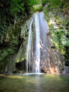 Gardameer watervallen