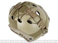 Matrix DIY Retention Kit for FAST / High Speed Airsoft Helmets - Tan