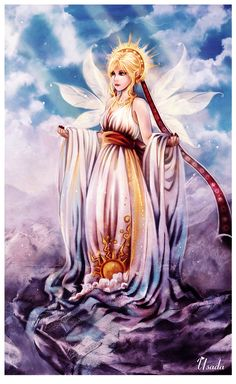 Hemera - Greek Goddess of the Day, the female personification of daylight.