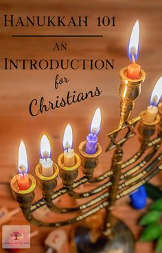 Hanukkah An Introduction for Christians Hanukkah An Introduction for Christians What is Hanukkah and why do some Christians celebrate it? And what does Hanukkah have to do with Jesus? What Is Hanukkah, Feliz Hanukkah, How To Celebrate Hanukkah, Happy Hanukkah, Holiday Celebrations Around The World, Celebration Around The World, Hanukkah Traditions, Hanukkah Celebration, Love The Lord