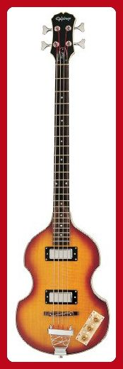 Epiphone VIOLA Electric Bass Guitar, Vintage Sunburst - Fun stuff and gift ideas (*Amazon Partner-Link)