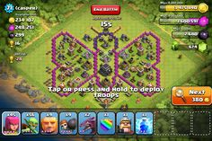 clash of clans funny base - Google Search