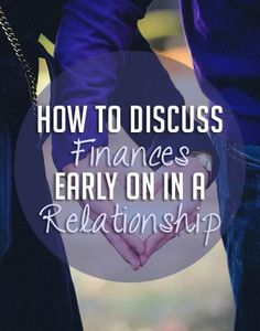 Do you know how to talk money in a relationship? Here are some tips on how to discuss finances, budgets, debt and saving money.