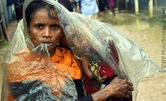 Burma: Män kvinnor och barn flyr för sina liv_Med ditt stöd kan vi hjälpa till att stoppa våldet och få slut på lidandet