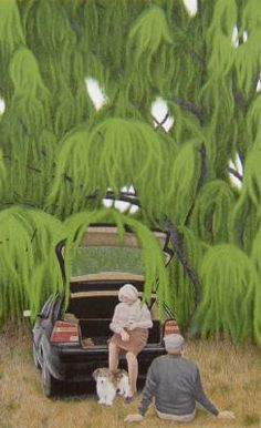 View Willow by David Alexander Colville on artnet. Browse upcoming and past auction lots by David Alexander Colville. Canadian Painters, Canadian Artists, Alex Colville, Original Paintings For Sale, Art Folder, Magic Realism, Acrylic Wall Art, Portraits, Art Archive