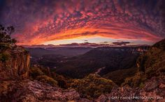 Sunset after the Storm, Sublime Point 13/10/14 (Gary P. Hayes Photography)