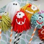 5 manualidades infantiles ¡monstruosas!