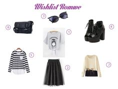 Wishlist, winter, Black Outfits, Kawaii outfits, dress, Totoro, Moda Kawaii, Blouse,Cat, sunglass,bang, Romwe, Crazy and Kawaii Desu,