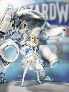 Safebooru is a anime and manga picture search engine, images are being updated hourly. Overwatch Skin Concepts, Overwatch Symmetra, Skins Characters, Character Art, Character Design, Overwatch Wallpapers, Animal Ears, Video Game Art, Art Model