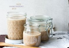 Toasted Coconut-Hazelnut Butter by topwithcinnamon