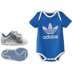 b8f2ba57d14ac Adidas Welcome Baby Originals Erkek Bebek ikili set G96042 Adidas  Çocuk