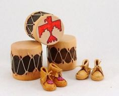 American Indian Items | Dolls House Miniatures