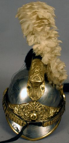 1880'S FRENCH CAVALRY HELMET