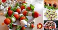 Jednohubky bez pečiva: Pripravte pre hostí chutné a ľahké občerstvenie