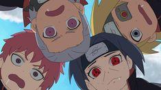 Hidan, Sasori, Itachi and Deidara Akatsuki Naruto Kakashi, Naruto Akatsuki Funny, Naruto Anime, Naruto Cute, Naruto Funny, Naruto Shippuden Anime, Manga Anime, Sasori And Deidara, Deidara Akatsuki