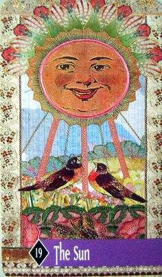 here comes the sun ♥ Sun - Enchanted Tarot