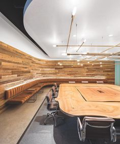 """1,862 Likes, 16 Comments - Interior Design Magazine (@interiordesignmag) on Instagram: """"In the boardroom of @Nokia Technologies' new San Francisco office by @gensler_design, a custom…"""""""