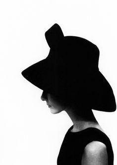 Even with her profile half-hidden, you just know. Audrey by Cecil Beaton.