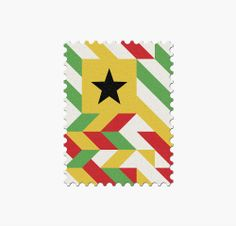 32 World Cup Stamps, Ghana _ Design: Mann