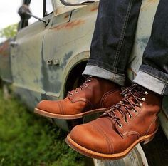 Denim & boots for men⋆ Men's Fashion Blog - TheUnstitchd.com
