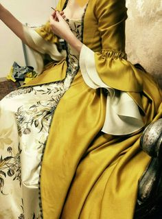 Claire Fraser Outlander costume Marie Antoinette by RococoPassion