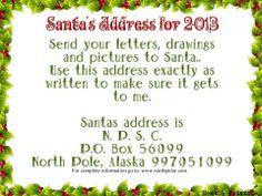 What Is SantaS Address  Elves Santa Address And Santa