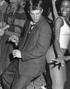 Chris Carmack by Bruce Weber for Abercrombie & Fitch (Fall 2000) #ChrisCarmack #BruceWeber #malemodel #model #actor #af #anf #abercrombie #abercrombieandfitch #bw #nyc #tweed #dancing