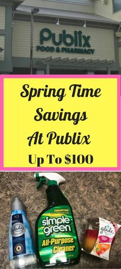Spring Time Savings At Publix - Up To $100 #ad Are you ready to swing into spring by saving up to $100 on a variety of products at Publix from 3/24/18-4/22/18? That is a whole month you can get these amazing deals!  Go ahead check out what is on sale: http://www.getthesavings.com/spring   Read more on blog #savemoney #ad
