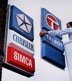Simca Chrysler devient Talbot en 1978