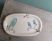 Whimsy. Pottery by Catherine Reece in Etsy