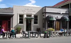 The Bank Cafe, Clyde. Situated in the heart of Clyde in what was an old Bank of New Zealand building. A good place to put your money. http://www.centralotagonz.com/wining-and-dining