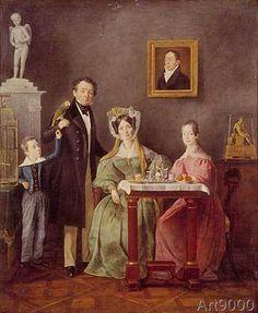 Johann Michael Neder - Family Portrait
