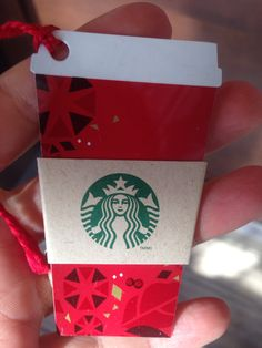 Starbucks gift card, who doesn't love coffee!?
