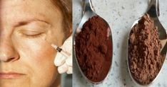 Would you like to get rid of your under-eye bags in just two minutes? Body Mask, Skin Mask, Diy Beauty, Beauty Hacks, Homemade Mask, Under Eye Bags, Natural Face, Beauty Recipe, Face And Body