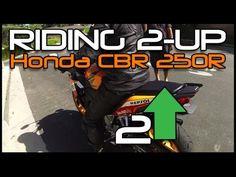 Riding Pillion on a CBR 250R! - YouTube
