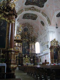 Eichstätt - kath. Schutzengel-Kirche (Inneres)