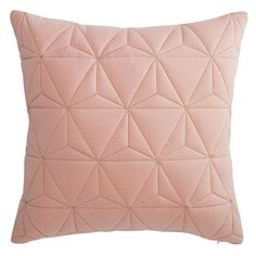 pink cushion with gold motifs45 x 45 cm | Maisons du Monde