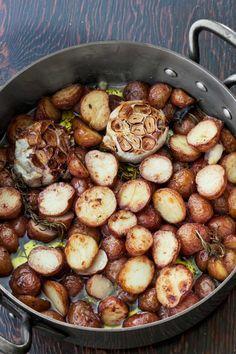 Farmhouse Crispy-Creamy Potatoes - CountryLiving.com
