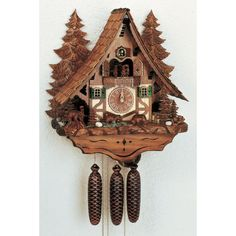 Coo coo clocks have always been so whimsical to me. Love them.