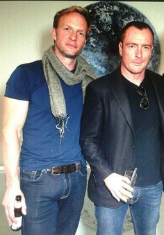I have debated with myself for DAYS if I should post this or not. It's from the premier of Toby's movie (he wrote and directed it) In Vitro, which stars Rupert Penry- Jones and Toby's wife. Toby is. A Crown For Christmas, Rupert Penry Jones, Divas, Toby Stephens, His Jeans, Black Sails, How To Wear Scarves, British Actors, Sexy Men