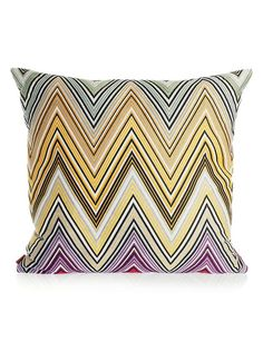 Missoni Home pillow - yes, please.