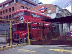 a bit of London in Bogota, Colombia Routemaster, Travelling, Times Square, London, Places, Bogota Colombia, London England, Lugares