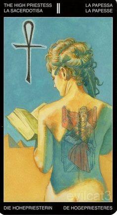 The High Priestess - Tattooed Tarot