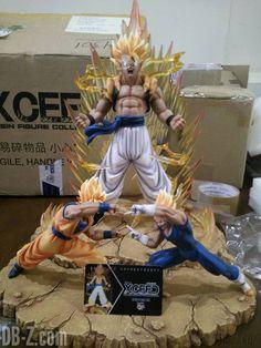 Dragon Ball Z fusion by mr. Shoryuken http://amzn.to/2q10MiJ http://amzn.to/2qWZ2qa