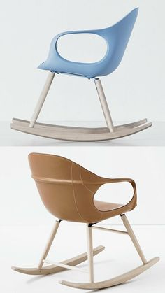 Rocking #chair ELEPHANT ROCKING by Kristalia | #design Neuland Industriaedesign @Kristalia Interiors