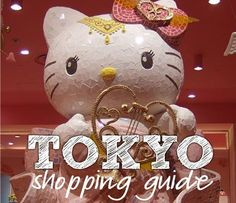Tokyo, Japan Shopping Guide!