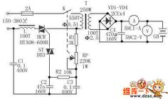 Adjustable car battery charger circuit