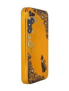 Orange Celt and Black Cat for iPhone4/4S